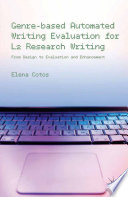 Genre based Automated Writing Evaluation for L2 Research Writing