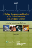 Pdf Law, Explanation and Analysis of the Patient Protection and Affordable Care Act