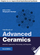 Handbook Of Advanced Ceramics Book PDF