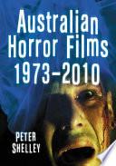 Australian Horror Films, 1973Ð2010