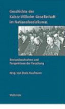 Geschichte der Kaiser Wilhelm Gesellschaft im Nationalsozialismus
