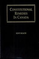 Constitutional Remedies in Canada