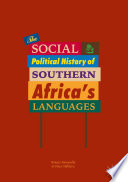 The Social And Political History Of Southern Africa S Languages