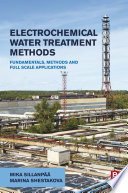 Electrochemical Water Treatment Methods Book