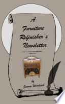 A Furniture Refinisher's Newsletter