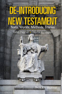 De-Introducing the New Testament