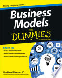 """Business Models For Dummies"" by Jim Muehlhausen"
