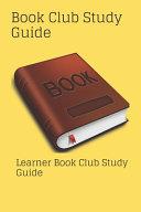 Book Club Study Guide Book