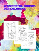 Wonderful Horses for Coloring