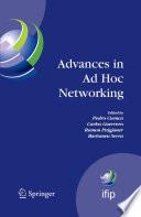 Advances in Ad Hoc Networking Book
