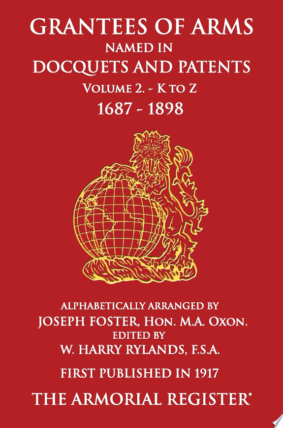 Grantees of Arms Vol 2