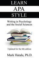 LEARN APA STYLE Book