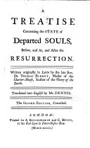 A Treatise Concerning the State of Departed Souls