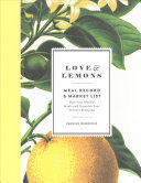Love & Lemons Meal Record and Market List