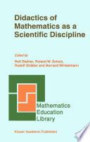 Didactics of Mathematics as a Scientific Discipline