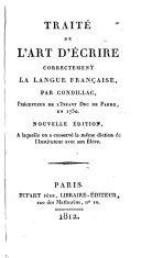 Traite de l'art d'écrire correctement la langue française