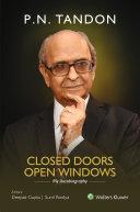 Closed Doors Open Windows   My Autobiography