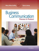 Business Communication  Process and Product Book