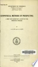 Geophysical Methods of Prospecting Book