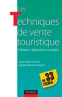 Pdf Les techniques de vente touristique - en 33 fiches Telecharger