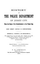 History of the Police Department of Jersey City