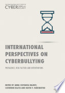 International Perspectives on Cyberbullying