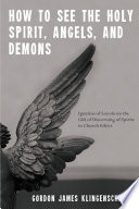 How to See the Holy Spirit  Angels  and Demons Book