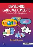Developing Language Concepts