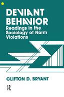 Deviant Behaviour Pdf/ePub eBook