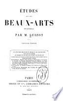 Études sur les beaux-arts en général...
