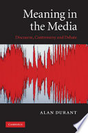 Meaning in the Media