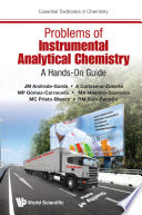Problems of Instrumental Analytical Chemistry