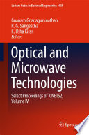 Optical And Microwave Technologies