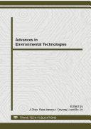 Advances in Environmental Technologies