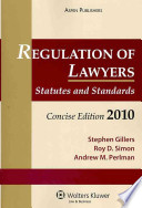 Regulation of Lawyers 2010