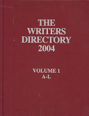 The Writers Directory  2004