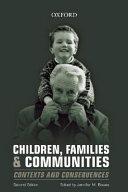 Children  Families   Communities Book