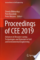Proceedings of CEE 2019