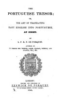 The Portuguese Tresor  Or  The Art of Translating Easy English Into Portuguese  at Sight