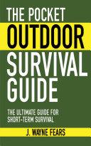 The Pocket Outdoor Survival Guide Pdf/ePub eBook