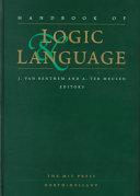Handbook of Logic and Language