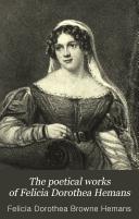 The Poetical Works Of Felicia Dorothea Hemans