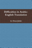 Difficulties in Arabic-English Translation