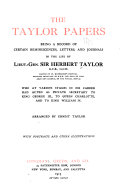 The Taylor papers: being a record of certain reminiscences, ...