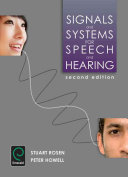 Signals and Systems for Speech and Hearing
