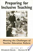 Preparing for Inclusive Teaching
