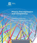 Privacy Free Expression And Transparency