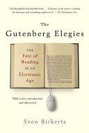 The Gutenberg Elegies