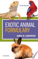 Exotic Animal Formulary   E Book
