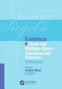 Siegel's Evidence